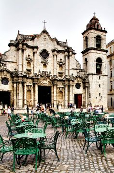 Cathedral in Havana. Traveling independently is the best way to make big savings on a trip to Cuba.