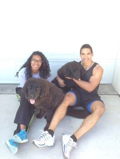 My Baby Boy.. his Girl and their Tibetan Mastiffs.. straight from China.