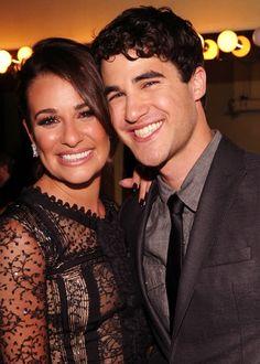 Darren and Lea Michele