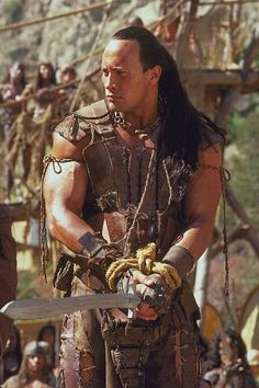 Dwayne Johnson (The Rock) in The Scorpion King. Dwayne Johnson The Rock, Rock Johnson, Dwayne The Rock, Fast And Furious, Radios, Diesel, Wwe The Rock, Catch, Adventure Movies