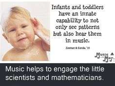 Infants and toddlers hear patterns