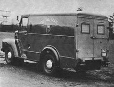 Royal Mail Trojan van
