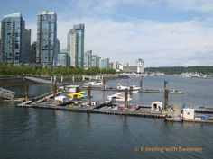 Vancouver Waterfront - what a beautiful city!