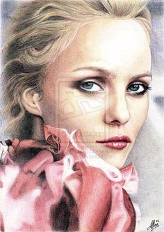 Biro's Art - Vanessa Paradis by ArtisAllan.deviantart.com on @deviantART