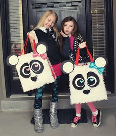 .Panda bag for Valentines Day