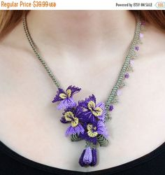 ON SALE  25% OFF New Beginnings Necklace  Needlework
