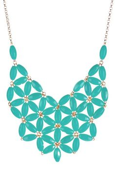 Make a Statement #Necklace #mint #accessories