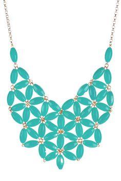 Make a Statement #Necklace #mint #accessories