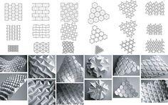 corrugation patterns