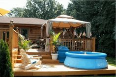 Backyard Gazebo Decks