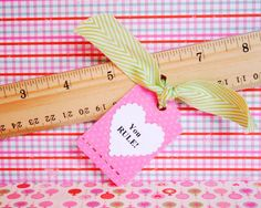 DIY candy-free valentines http://www2.fiskars.com/Kids-Activities-School/Projects/Cards/Holiday/Candy-Free-Valentines