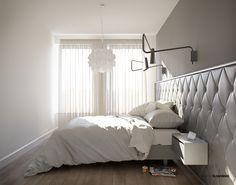 Bedroom - Sypialnia ; interior designer,architect Marcin Śliwiński Poland;  Source: https://www.facebook.com/architectmarcinsliwinski?fref=ts