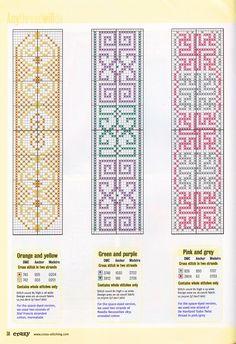 Cross-stitch Bookmarks...     Gallery.ru / Фото #2 - Cross Stitch Crazy 026 ноябрь 2001 - tymannost