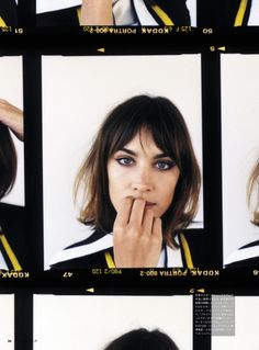 MAP - News – Angelo Pennetta Shoots Alexa Chung for Vogue Girl Japan Cover Story