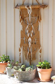 Boho Wall Hanging | Bohemian Outdoor Living