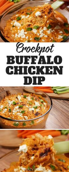 this healthy buffalo chicken dip is full of protein and not calories you can make it in the instant pot slow cooker or oven you ll love this easy game