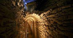 Der Eupalineo Aquädukt wurde zum Internationalen Historischen Denkmal der Mechanik ernannt! Samos.