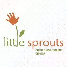 For Sale: Little Sprouts Child Development Center — daycare logo
