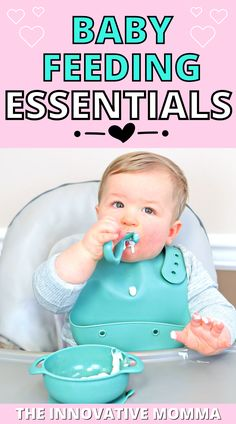Mealtime with babies and toddlers can be ROUGH and MESSY. Thankfully, there are some awesome baby feeding products that can help make mealtime with your little one a little easier (and neater)! In this video, I'm sharing 14 of the best baby feeding products and essentials for 2021! #babyfeeding #toddlerfeeding #bestbabyfeedingproducts Feeding Baby Solids, Solids For Baby, Getting Ready For Baby, Preparing For Baby, Mom Hacks, Baby Hacks, Baby Solid Food, Newborn Baby Tips, Baby Feeding Schedule