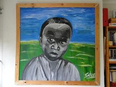 schilderij +/_ 1,50 x 1,50m