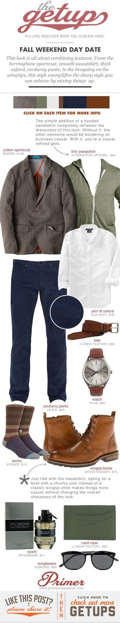 Fall Getup Week: Fall Day Date - Primer