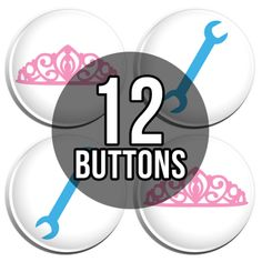 25mm Pin Button Badge Diva Cute Fun This Is What A Princess Looks Like 1 Inch
