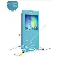 Funda elegante calidad nillkin con ventana para Samsung Galaxy A5