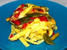 Il Cucchiaio di Giada | Fettuccine di anatra alle verdure