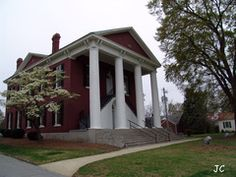 Old Campbell County Georgia Court House - Built circa 1870