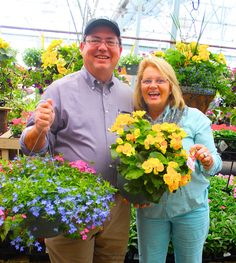Jim & Cindy Webster invite you to stroll the garden paths at The Barn Nursery, Pottery Outlet, and Boutique, Chattanooga!