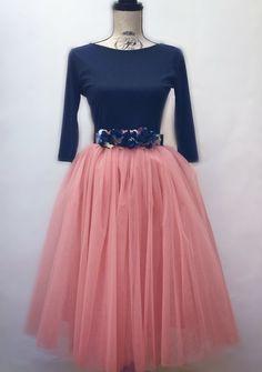 Faldas de tul #tutuskirt #sexinthecity #carriebradshaw #totallook invitada perfecta by #BualaDesgin Atelier moda española