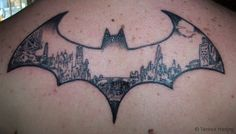 batman gotham city tattoo just thought this was cool!