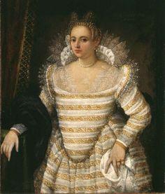 Starlight Masquerade Giovanni Antonio Fasolo Portrait of a Venetian Noblewoman at Age 18