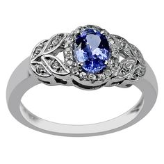 Buy Custom Made 925 Sterling Silver Ring With 0.83 Carats Tanzanite Gemstone At Just $59.99. Also Available In Gold.  Item Code : GSR680 Brand : Gemsara Product Type : Ring Gemstone Name : Tanzanite,Natural Zircon Carat Weight : 0.83 ctw Gemstone Details: 0.57 cts Tanzanite Oval 7X5mm 0.26 cts NATURAL ZIRCON Round 1mm  VISIT OUR STORE FOR MORE --------------------------------------------------------------- https://www.etsy.com/shop/Gemsara  SHOP POLICIES https://...