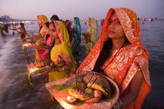 Chhath Puja-Dedicated to the Hindu Sun God and Goddess