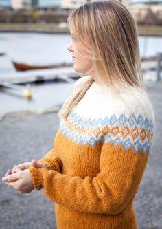 Garnpakke: Alettegenser i Faerytale (dame) - Knitting Inna Pullover, Knitting, Sweaters, Design, Diy, Fashion, Pink, Threading, Moda