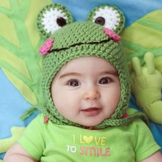 Ribbit Ribbit! A fun, easy, and free crochet pattern for spring! FREE, thanks so xox