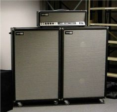 old Sunn Amps Vintage Bass Guitars, Guitar Rig, Bass Amps, Cool Gear, Pedalboard, Boombox, Music Stuff, Rigs, Speakers