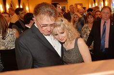 Bill Anderson and Bette Anderson (2013 - George Jones Memorial Service) [Kevin Richards]
