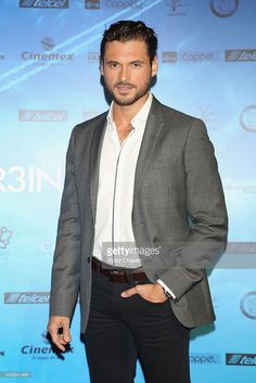 "Adan Canto attends ""Casi Treinta"" Mexico City premiere red carpet at Cinemex Antara Polanco on August 2014 in Mexico City, Mexico. Designated Survivor, Men Clothes, Man Fashion, Gorgeous Men, Future Husband, Strong Women, Sexy Men, Eye Candy, Eyes"