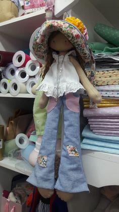 Handmade doll toy Tilda doll Interior doll by AnnKirillartPlace - Salvabrani Felt Dolls, Doll Toys, Homemade Dolls, Sunbonnet Sue, Mini Quilts, Fabric Dolls, Doll Patterns, Beautiful Dolls, Baby Toys