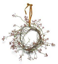 whimsical bittersweet wreath
