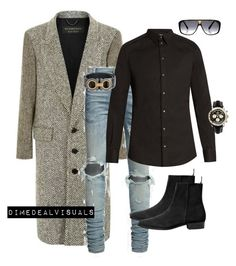 """MenFall"" by dimedeal ❤ liked on Polyvore featuring Burberry, Dolce&Gabbana, MANGO MAN, Breitling, Salvatore Ferragamo, Louis Vuitton, men's fashion and menswear"
