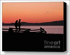 Sunset Boulevard - Victoria, BC, Canada - Fine Art Prints and Posters for Sale by The Singing Photographer - Micki Findlay. #victoria #wallart #walldecor #bc #canada #sunset #vancouverisland