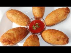 Bread Potato Rolls Recipe -  This is a recipe one should make when there is not much time. The ingredients are easily available & dosent take much time.  Bread potato rolls are best had with a good and yummy dip