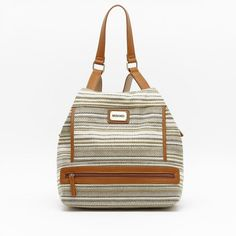 New in! Acera backpack | AW1920 Collection | #bags #backpacks #shoponline #bolsos #accesorios Fall Winter, Autumn, Ethnic Patterns, Sling Backpack, Backpacks, Bags, Collection, Sidewalks, Pockets