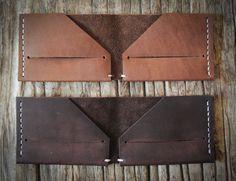 #Leather #wallet #mens #gear #style #handcrafted #madeinamerica #minimalist #stockandbarrel