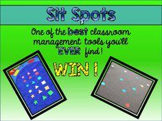 Sea Bear's Kindergarten: Classroom Management Sit Spots