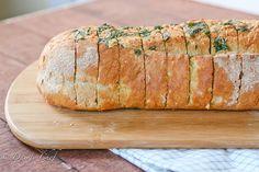 Garlic and Herb Italian Bread Recipe
