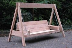 Childrens Playground Swing Sets - So Much Fun In Your Own Backyard - Unci. Porch Swing Frame, Pergola Swing, Diy Pergola, Pergola Kits, Outdoor Bench Swing, Wooden Garden Swing, Wood Swing, Garden Swing Chair, Pallet Swing Beds
